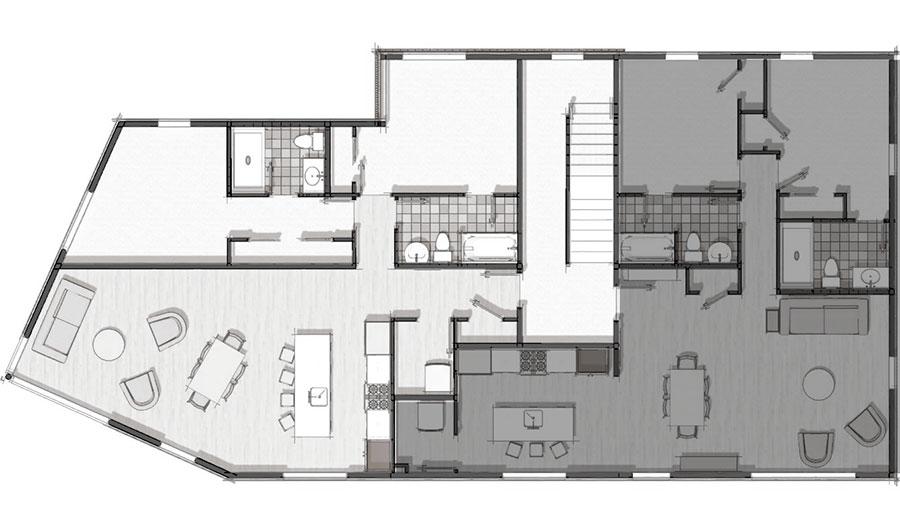 19 Ocean Avenue Unit A Floor Plan