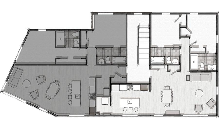 19 Ocean Avenue Unit B Floor Plan